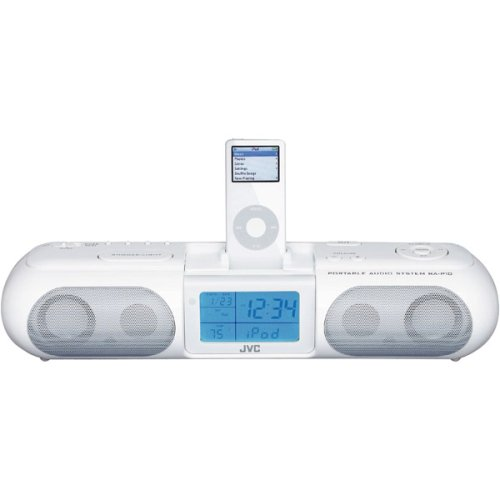 JVC RAP10 Boombox  for iPod (iPod not included)