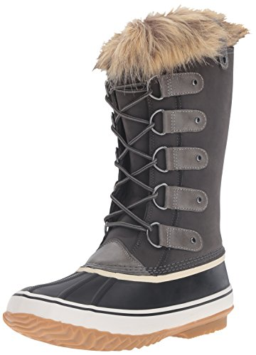 JBU by Jambu Women's Edith Weather Ready Snow Boot, Dark Grey, 6 M US