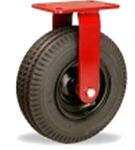 "10"" Hamilton Cush-N-Aire Pneumatic Rigid Plate Caster 480 lb Capacity from Hamilton"