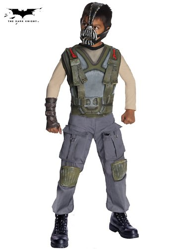 Bane Dark Knight Rises Deluxe Child Costumes (Deluxe Bane Child Costume - Small)