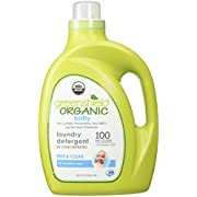 GreenShield Organic USDA Certified Organic Baby Laundry Detergent, 100 Ounce