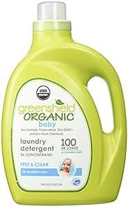 Organic baby laundry detergent