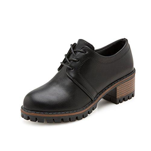 Mit Schuhen In Großbritannien,Mit Groben Und Martin Schuhen.,Koreanische Version Des Round Head Retro Hundert Kleine Schuhe A