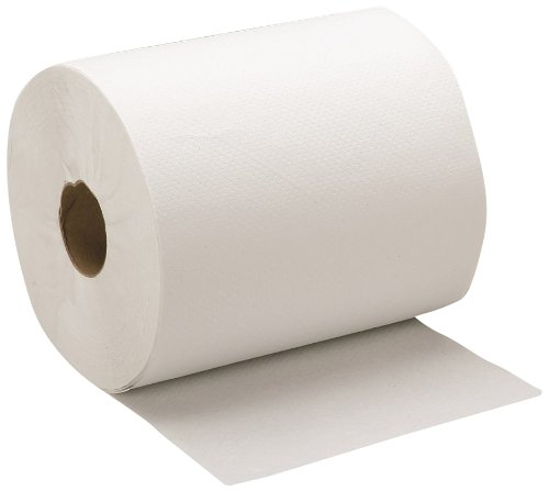 SKILCRAFT 8540-01-592-3323 Recycled Fiber Single-Ply Continuous Roll Paper Towel, 600' Length x 8