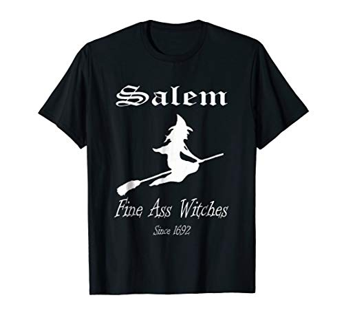 Salem Witch Trials T-Shirt Wicca Pagan Funny Halloween Tee -