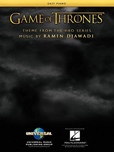 Game Of Thrones (Tema de la serie HBO) – Easy Piano Sheet Música Single