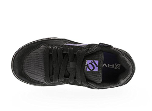 Five Ten Freerider Women's Flat Pedal Shoe: Black/Purple 9