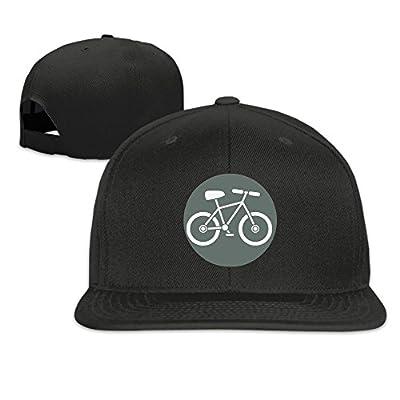 Bikeicon Plain Adjustable Snapback Hats Men's Women's Baseball Caps
