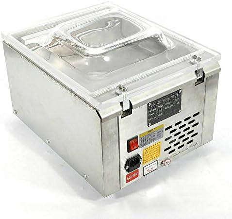 120W sous vide scellant automatique sous vide scellant professionnel pour le stockage des aliments économiseur de nourriture automatique sous vide machine d'emballage 220V