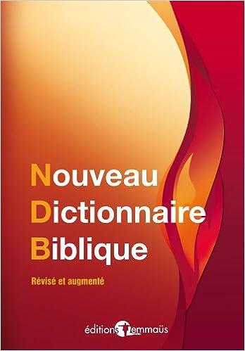 Livres gratuits en ligne Nouveau dictionnaire biblique pdf ebook