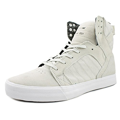 Supra Men's Skytop Light Grey/White Sneaker Men's 10, Women's 11.5 D (M) - Supra Skytop Sneakers