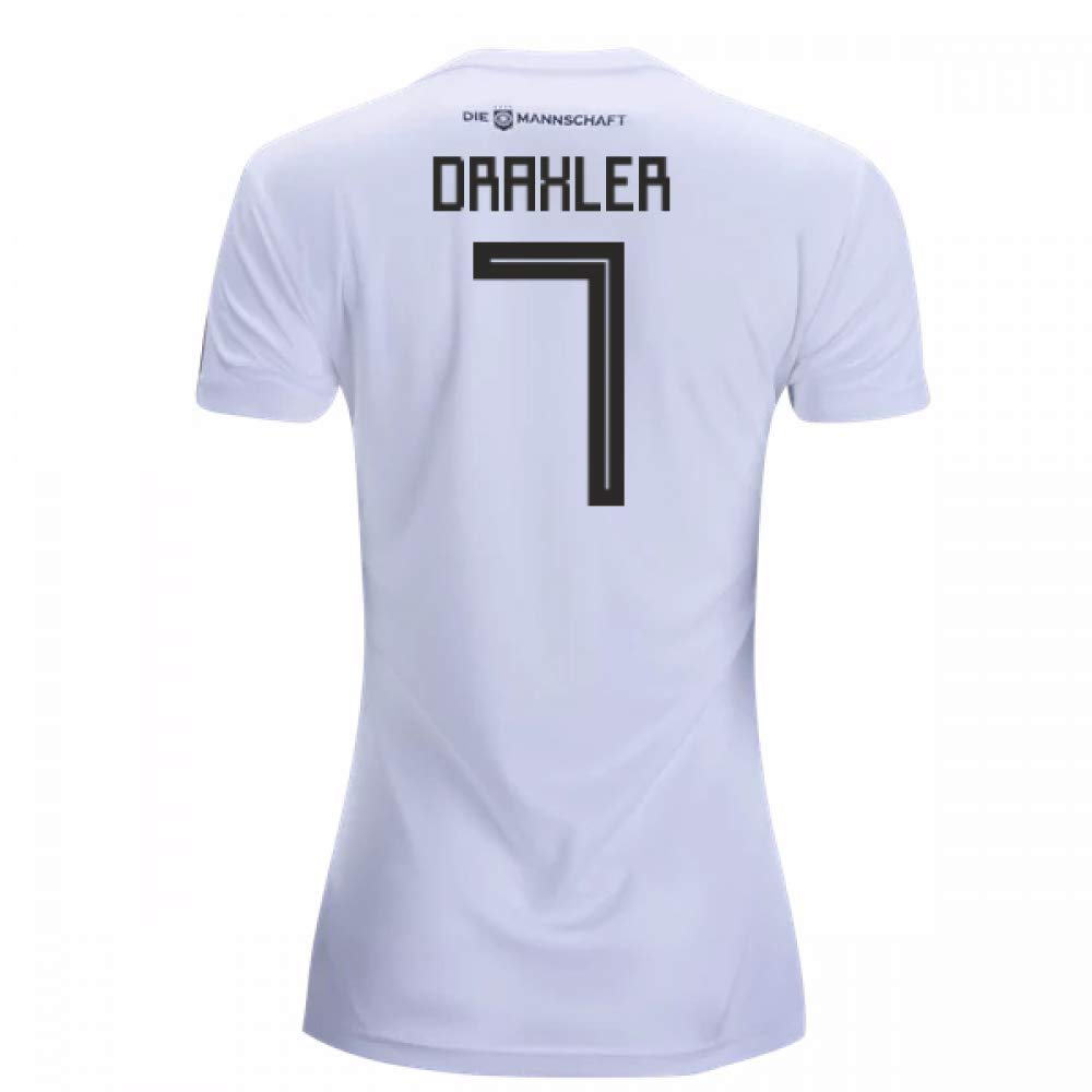 2018-19 Germany Home Damenschuhe Football Soccer T-Shirt Trikot (Julian Draxler 7)