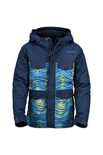 Arctix Boys Rock Star Insulated Winter Jacket, Large, Blue Night