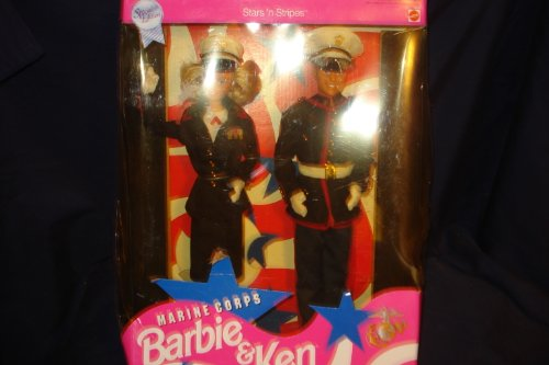 Star N Stripes Marine Corps Barbie & Ken 1991 Special (Barbie Stars N Stripes)