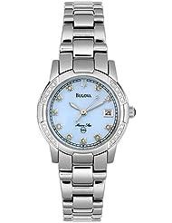 Bulova Womens 96R43 Diamond Marine Star Watch