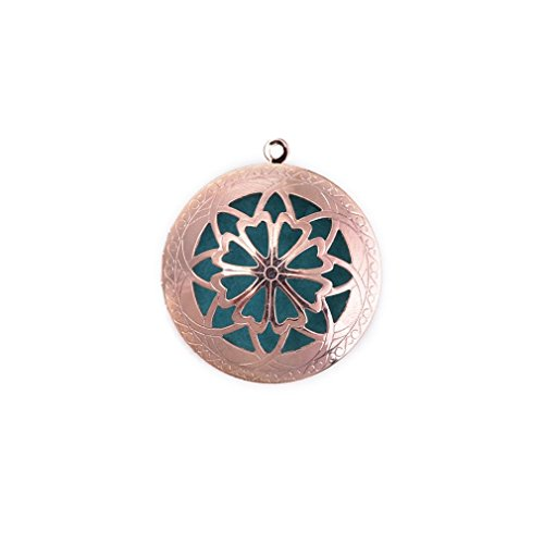ZX Rose red Aromatherapy Essential Necklaces