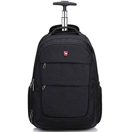 Rolling Backpack with Wheels