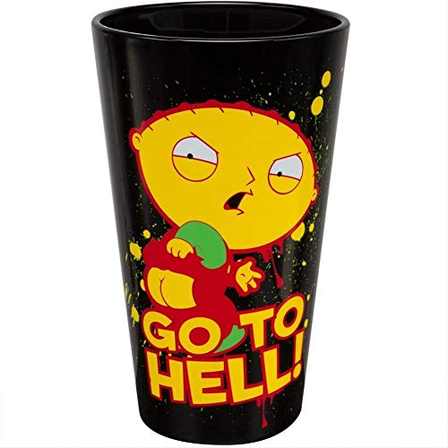 (Family Guy - Go to Hell Pint Glass)