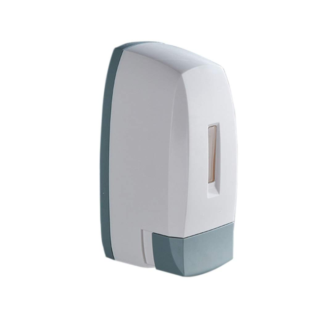 Soap dispenser Emulsion Wall-Mounted Hand sanitizer Bottle Kitchen Bathroom soap Dish (Color : White, Size : 18.818.89.9cm)