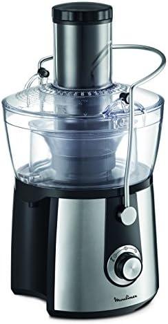 Moulinex Juice Express JU550D10 Licuadora, 800 W, 1.4 litros, 2 Velocidades, Negro/Plateado: Amazon.es: Hogar