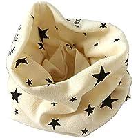 Bufanda para niño Fablcrew, con diseño de Pentagrama Beige Beige Talla:40 * 20cm
