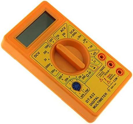 Lorenlli Dt 832 Mini Taschen Digital Multimeter 1999 Zählt Ac Dc Volt Amp Ohm Diode Hfe Durchgangsprüfer Amperemeter Voltmeter Ohmmeter Garten