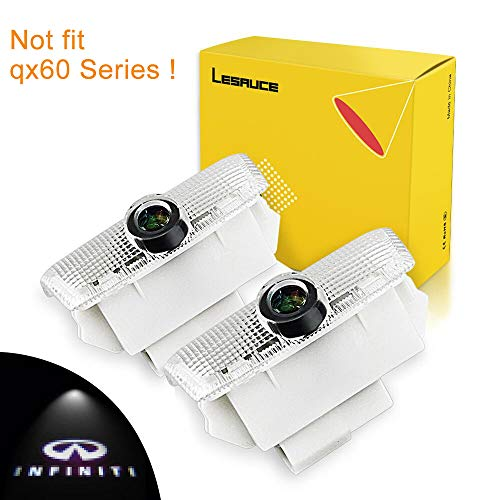 - Car Door Projector Lights for Infiniti Courtesy Lamps Ghost Shadow Lights EX FX G  M Q50 Q60 QX50 QX56 QX70 QX80 Accessories Welcome Projector Lights, 2 Pack
