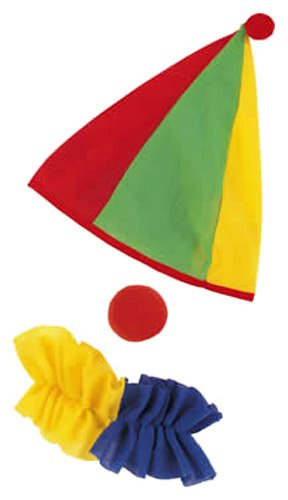 [Rubie's Costume Child's Clown Costume Accessory Kit] (Boy Clown Costumes)