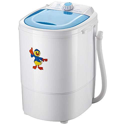 Zhao Li Portable Washing Machine – Washing Machine Washing Socks Underwear Briefs Small Mini Dormitory (Color : B)