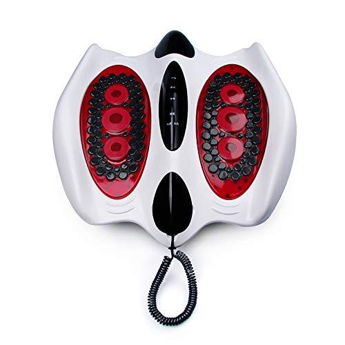 (JERKEY Foot Massage Machine, Shiatsu Massager for Tired Feet Foot Massager Leg Massager Elderly Home Physiotherapy Instrument Home Multifunction Dredge Meridian)