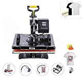 CO-Z 12 x 15 inch Pro Heat Press Machine 5 in 1 Swing
