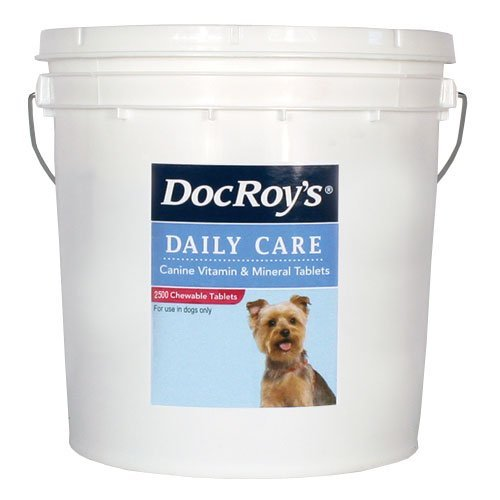 Doc Roys Daily Care Canine Tabs 2500ct