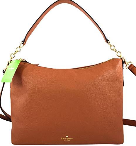 Kate Spade New York Alena Larchmont Avenue Shoulder Bag Handbag (Warm Cognac) ()