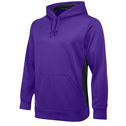 Nike Ko 2,0 Hoodie Sweatshirt Het Dri-fit Paars / Antraciet