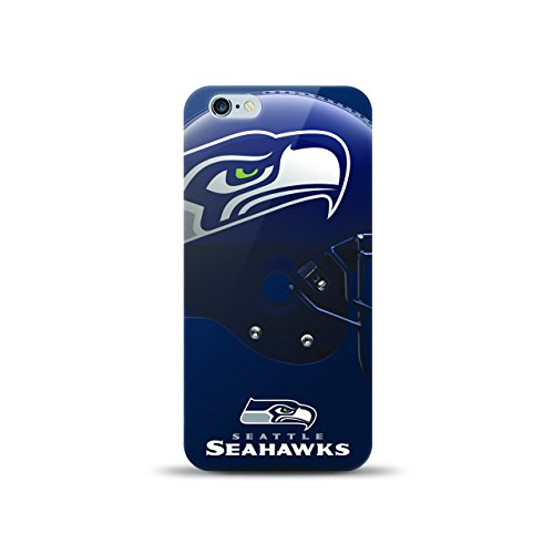 MIZCO Sports NFL-HL6-SHKS iPhone 6/6S Helmet Case for NFL Seattle Seahawks by MIZCO SPORTS