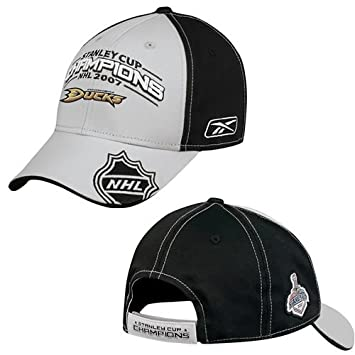 ANAHEIM DUCKS 2007 LOCKER ROOM HAT CAP STANLEY CUP Rbk