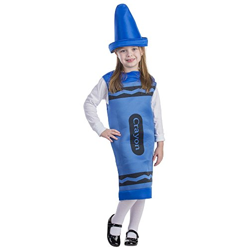(Blue Crayon, Size Medium)