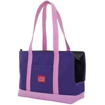 Manhattan Portage Pet Carrier Tote Bag (Purple/Pink) by Manhattan Portage (Image #2)