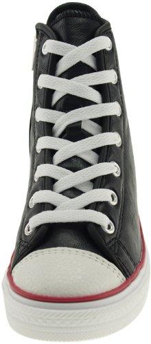 Maxstar 7-Fach mit Reißverschluss, niedrige Pumps, Keil-Sneakers TC-Black