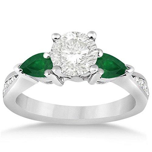 0.61 Ct Emerald Cut Diamond - 5
