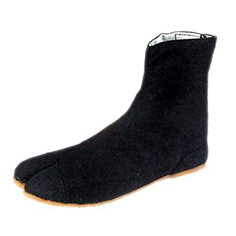 Childs Ninja Shoes, Tabi Boots, Jikatabi, Rikio Tabi/ Travel Bag! 18cm(US12)
