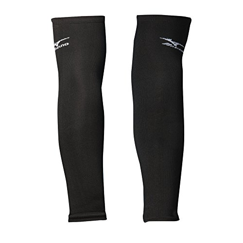 Mizuno Arm Sleeves, Black, OSFM