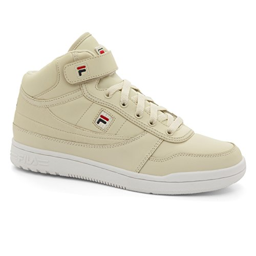 Fila White Sneakers (Fila Women's BBN 84 2 Walking Shoe, Cream Navy Red, 7.5 B US)