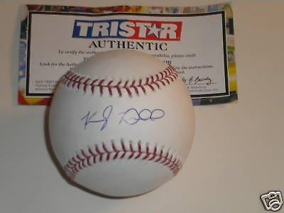 Kyle Drabek Toronto Blue Jays Signed Baseball Tri -