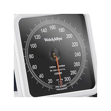 Tensiómetro Welch Allyn 767 Grand WEL072-Esfera de pared: Amazon.es: Salud y cuidado personal