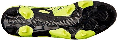 Adidas Performance X 15.2 Firma / artificial de fútbol para suelo de la grapa, negro / shock Mint / Solar Yellow/Core Black/Solar Yellow