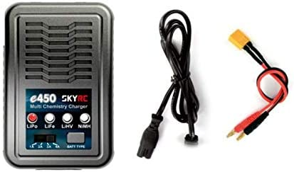 SkyRC SK-100122 E450 Multi Chemistry Charger 2-4S LiPo//LiFe//LiHV 6-8S NiMH