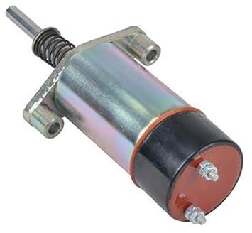 NEW FUEL SHUT-OFF SOLENOID FITS CATERPILLAR 3306B 3406B ENGINE 1255773  125-57773