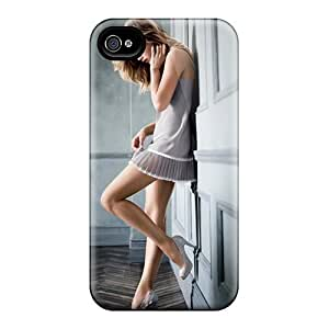 LJF phone case Awesome Case Cover/iphone 4/4s Defender Case Cover(doutzen Kroes Victorias Secret Supermodel)