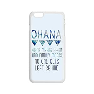 NICKER ohana means family Phone Case for Iphone 6
